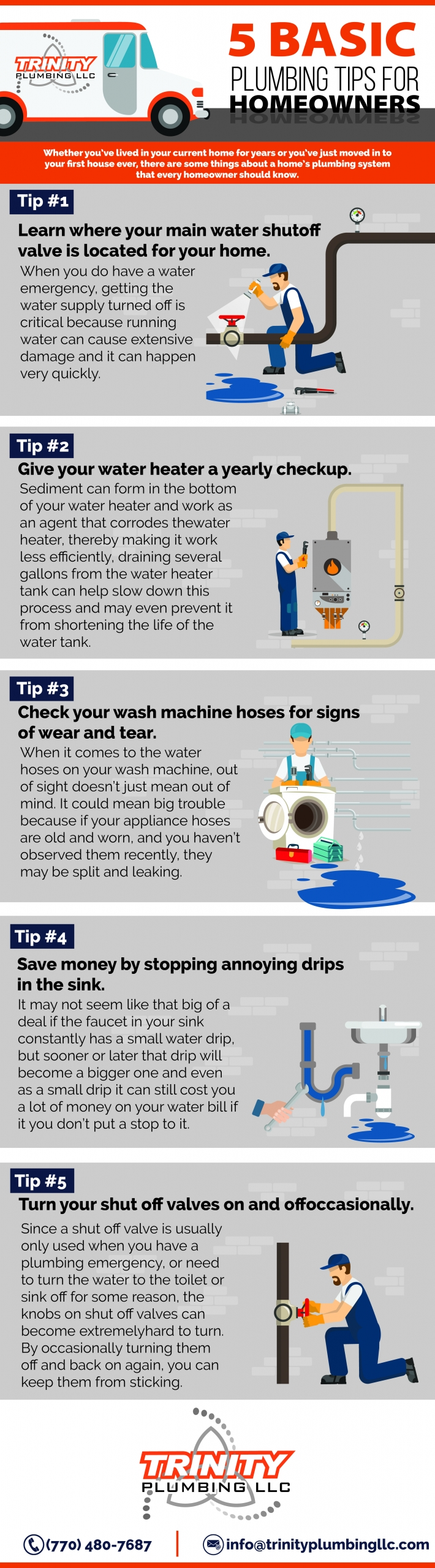 5 Basic Plumbing Tips For Homeowners Trinity Plumbing Commercial Residential Plumber